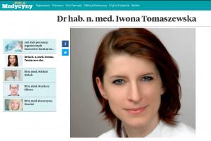 Problemy stomatologiczne pacjentów onkologicznych w uwadze dr hab. Iwony Tomaszewskiej