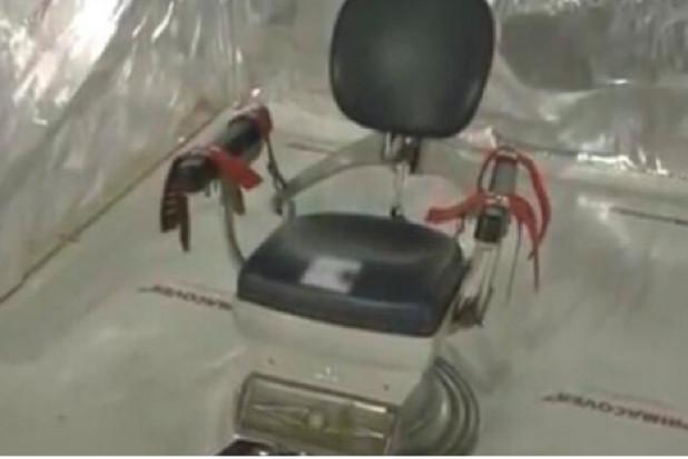Fotel dentystyczny wybrany na narzędzie tortur