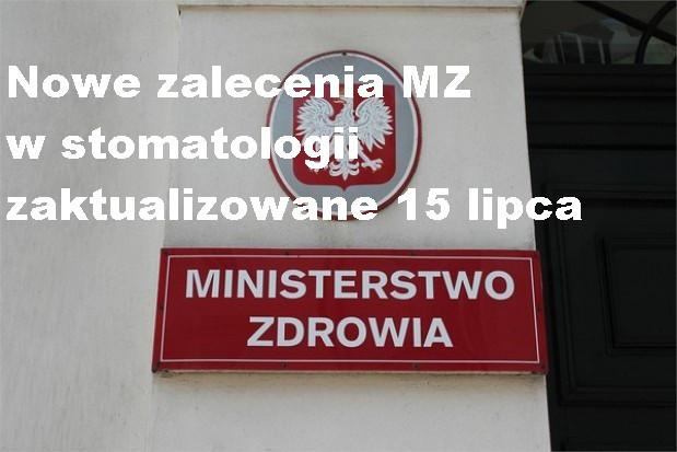 Koronawirus: w końcu są wyczekiwane zalecenia MZ  w stomatologii