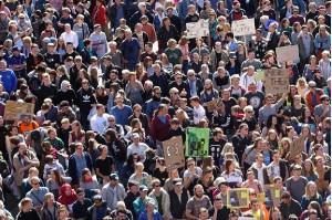 Manifestacja przeciwko zaostrzeniu kar mogących objąć także medyków