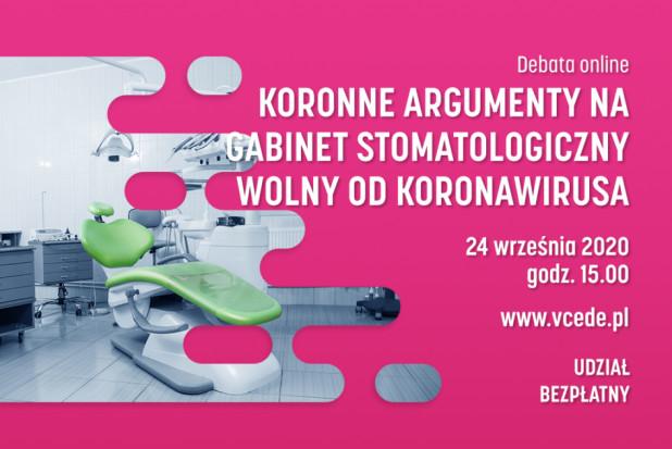 Koronne argumenty na gabinet stomatologiczny wolny od koronawirusa.