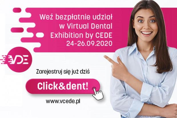Kto żyw rejestruje się na Virtual Dental Exhibition by CEDE