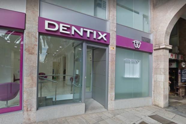 Dentix dogorywa