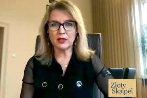 Prof. Marzena Dominiak ze Złotym Skalpelem 2020