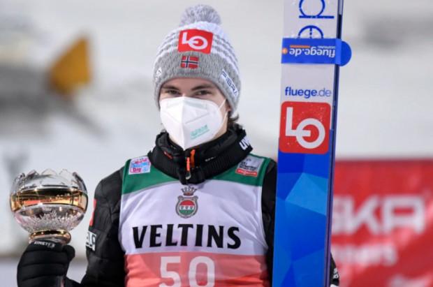 Chory ząb zakończył marzenia Mariusa Lindvika o wygraniu TCS