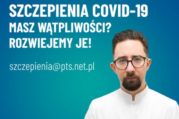 Szczepienia przeciwko COVID-19: gorąca linia PTS