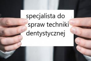 Kompetencje specjalistów do spraw techniki dentystycznej