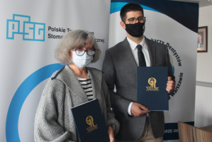 Wzór partnerskiej współpracy: Polskie Towarzystwo Stomatologii Geriatrycznej - OIL w Warszawie