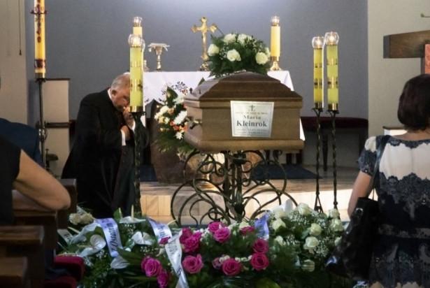 Pogrzeb prof. Marii Kleinrok