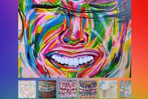 Higienistka stomatologiczna – zadziwia sztuką malarską