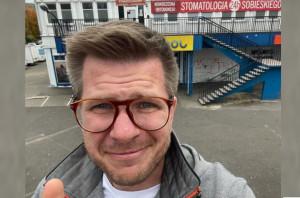 Filip Chajzer dziękuje dentystce z Sobieskiego
